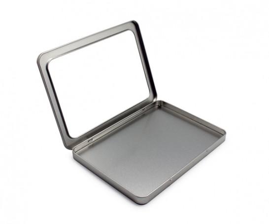 Caixa metal A5 com janela