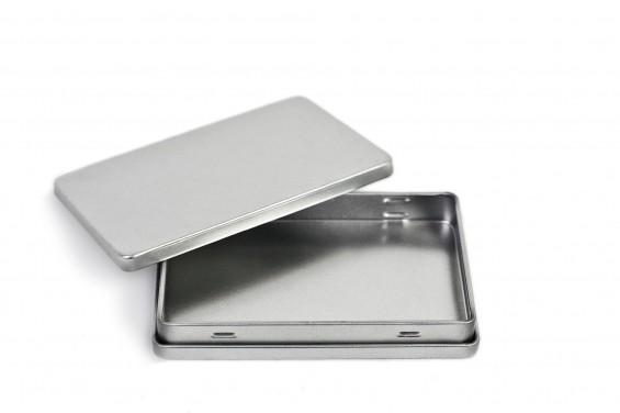 Caixa metal para pequenos objetos