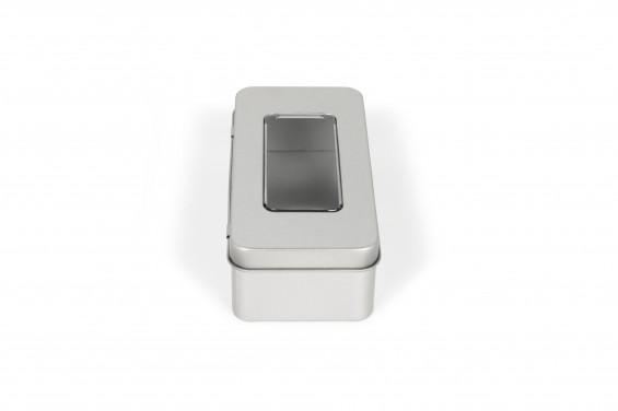 Caixa metal Promobox com janela