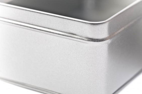 Caixa metal retangular