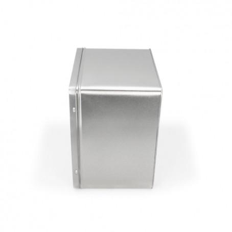 Caixa metal retangular alta