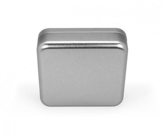 Caixa metal quadrada Slim