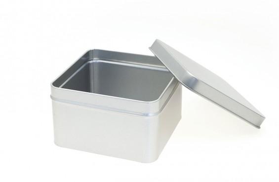 Caixa metal quadrada L