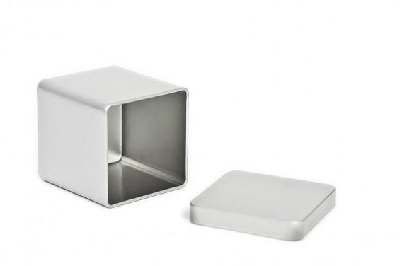 Caixa metal quadrada tamanho S