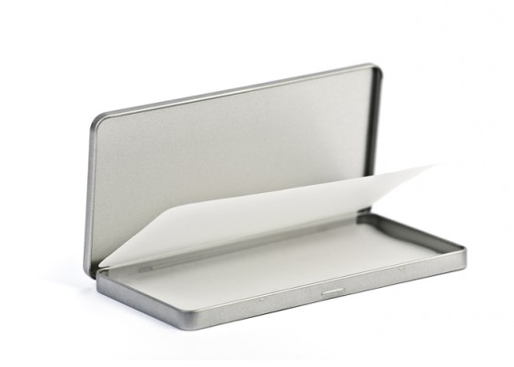 Caixa metal com tampa