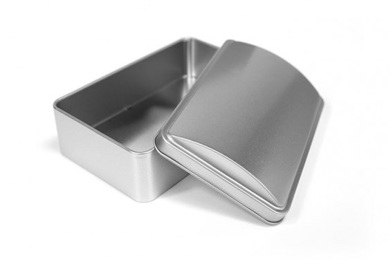 Embalagem de metal tipo baú