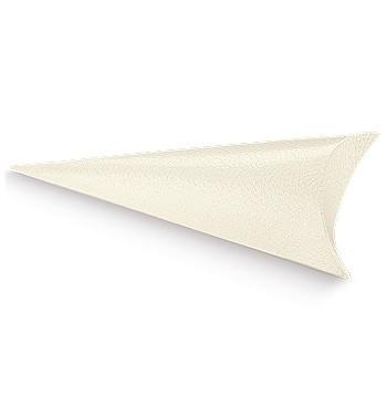 Cone em cartão branco