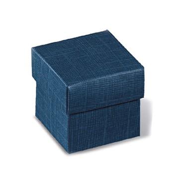Caixa azul tampa amovível