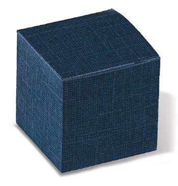 Caixa de cartão azul