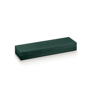 Embalagem retangular verde