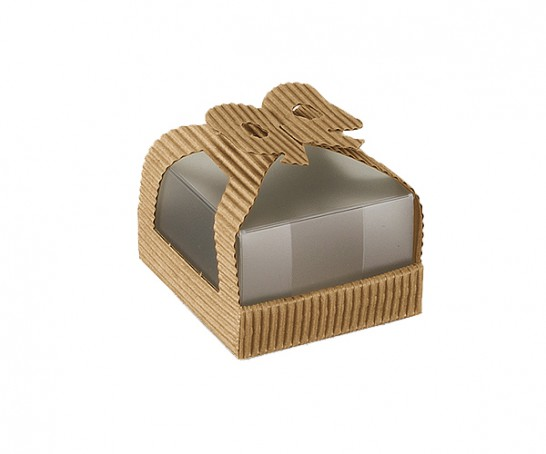 Embalagem de cartão e plástico