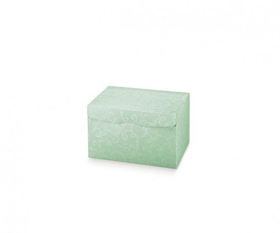 Embalagem verde com impressão