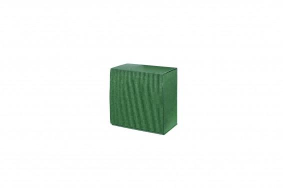 Embalagem cartão ondulado verde escura