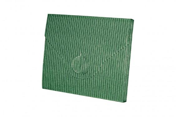 Embalagem envelope verde