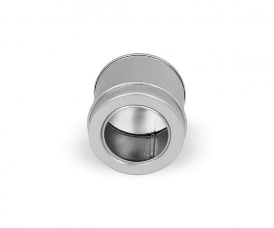 Embalagem de alumínio com janela