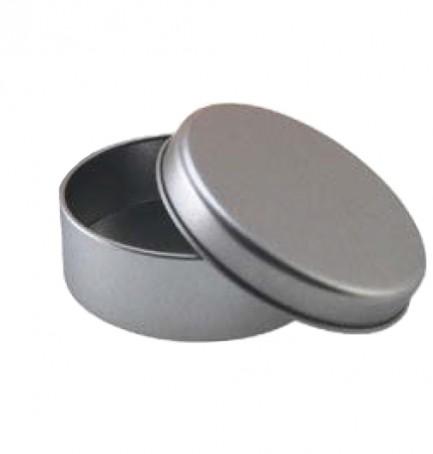 Embalagem metal redonda