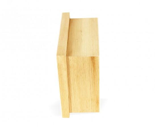 Caixa de madeira com separadores
