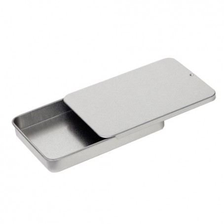 Embalagem de metal pequena