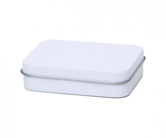 Caixa de metal branca