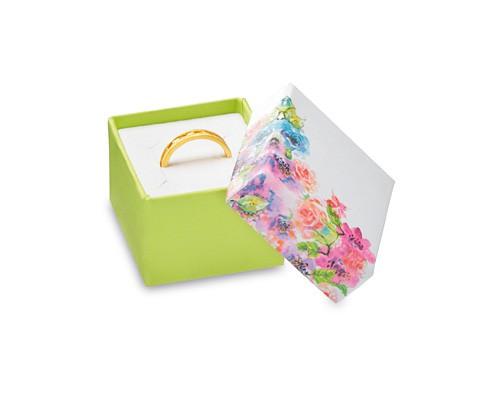Caixa de cartão florida