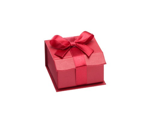 Caixa de cartão vermelha