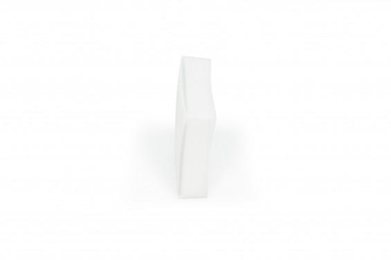 Caixa plástica branca