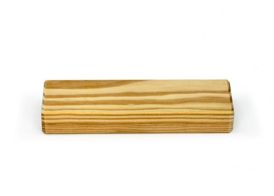 Caixa de madeira para duas canetas