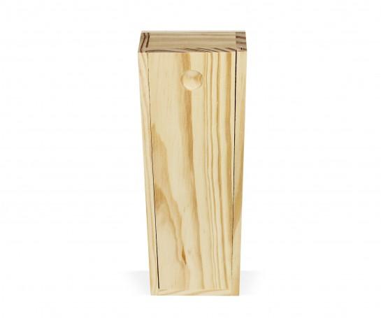 Caixa de madeira com tampa