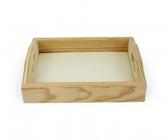 Tabuleiro de madeira