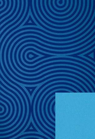 Papel de embrulho azul