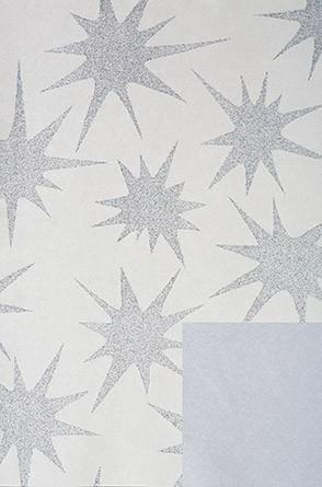 Papel de embrulho com padrão cinza