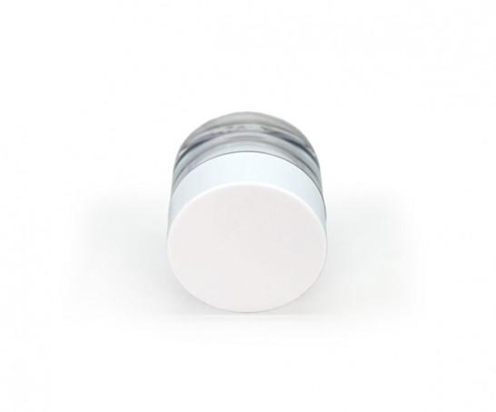 Frasco com tampa branca