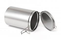 Caixa metal redonda