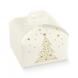 Embalagem de cartão com motivos natalícios