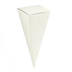 Embalagem de cartão em forma de cone
