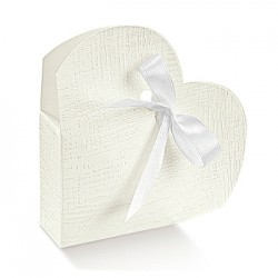 Embalagem de cartão em forma de coração