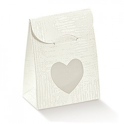 Saco de cartão branco