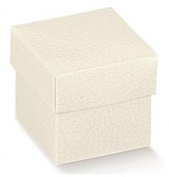 Cubo de cartão branco