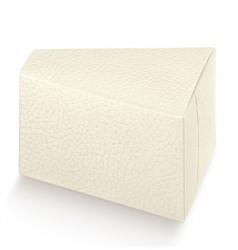 Embalagem de cartão triangular