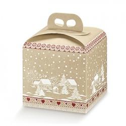 Embalagem de cartão para o natal