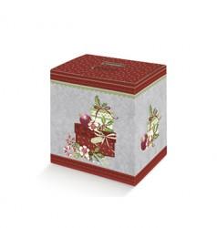 Caixa de cartão decorada