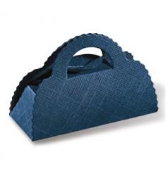 Mala de cartão em azul
