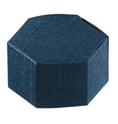 Caixa de cartão hexagonal