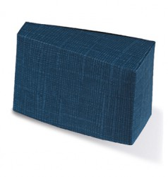Caixa com formato triangular
