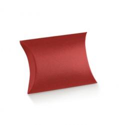 Almofada de cartão vermelha