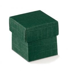 Caixa de cartão verde