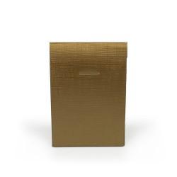 Embalagem de cartão dourada