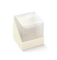 Cubo em PET e base em cartão