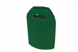 Saco cartão ondulado verde