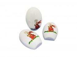 Embalagem metal em ovo